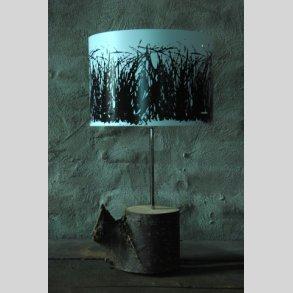 Rå træ bordlamper