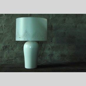 Porcelæn bordlamper